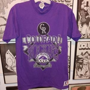 Vintage Colorado Rockies MLB Shirt